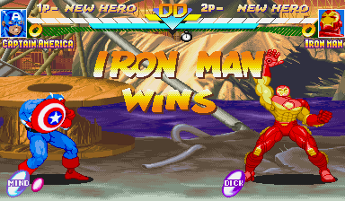 MSH Civil War - Iron Man Wins