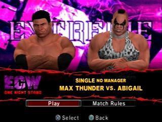 Smackdown vs. Raw 2006 - Max vs Abigail intro