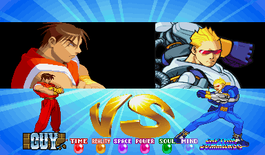 Vs. Faker - Guy vs. Capt. Commando