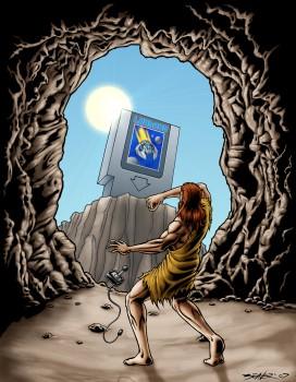 Virtual Caveman 350p