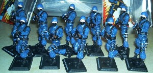 G.I.JOE 25th Anniversary: 10 single pack Cobra Troopers