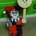 Harley Quinn Lego figure